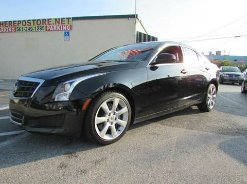 2013 Cadillac ATS for sale at The Repo Store - 1616 South Military Trail Lot 2 in West Palm Beach FL