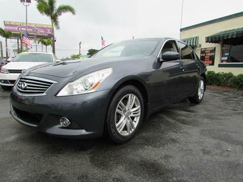 2012 Infiniti G25 Sedan for sale at The Repo Store - 624 SOUTH MILITARY TRAIL LOT 1 in West Palm Beach FL