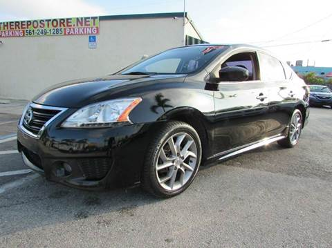 2013 Nissan Sentra for sale at The Repo Store - 624 SOUTH MILITARY TRAIL LOT 1 in West Palm Beach FL