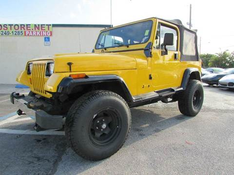 1988 Jeep Wrangler for sale at The Repo Store - 1616 South Military Trail Lot 2 in West Palm Beach FL