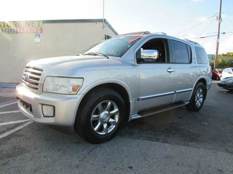 2006 Infiniti QX56 for sale at The Repo Store - 624 SOUTH MILITARY TRAIL LOT 1 in West Palm Beach FL