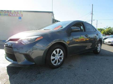 2014 Toyota Corolla for sale at The Repo Store - 1616 South Military Trail Lot 2 in West Palm Beach FL