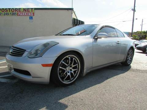 2005 Infiniti G35 for sale at The Repo Store - 624 SOUTH MILITARY TRAIL LOT 1 in West Palm Beach FL