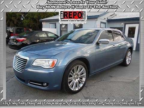 2011 Chrysler 300 for sale at The Repo Store - 1616 South Military Trail Lot 2 in West Palm Beach FL
