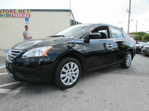 2014 Nissan Sentra for sale at The Repo Store - 1616 South Military Trail Lot 2 in West Palm Beach FL