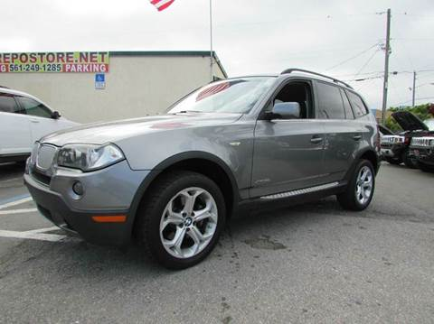2009 BMW X3 for sale at The Repo Store - 1616 South Military Trail Lot 2 in West Palm Beach FL