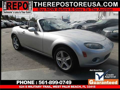 2006 Mazda MX-5 Miata for sale at The Repo Store - 1616 South Military Trail Lot 2 in West Palm Beach FL