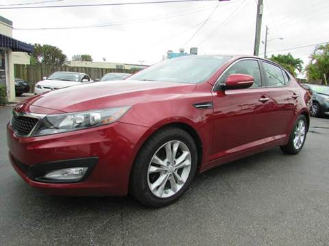 2013 Kia Optima for sale at The Repo Store - 1616 South Military Trail Lot 2 in West Palm Beach FL