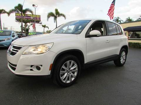 2009 Volkswagen Tiguan for sale at The Repo Store - 1616 South Military Trail Lot 2 in West Palm Beach FL