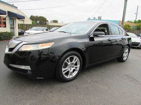 2009 Acura TL for sale at The Repo Store - 1616 South Military Trail Lot 2 in West Palm Beach FL