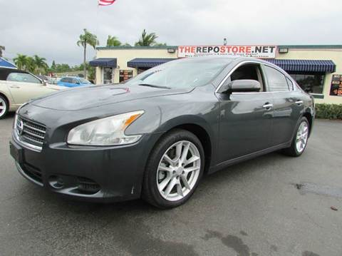 2011 Nissan Maxima for sale at The Repo Store - 624 SOUTH MILITARY TRAIL LOT 1 in West Palm Beach FL