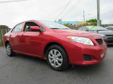 2010 Toyota Corolla for sale at The Repo Store - 624 SOUTH MILITARY TRAIL LOT 1 in West Palm Beach FL