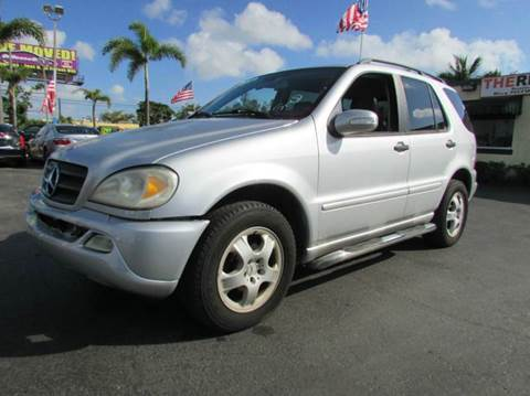 2004 Mercedes-Benz M-Class for sale at The Repo Store - 624 SOUTH MILITARY TRAIL LOT 1 in West Palm Beach FL