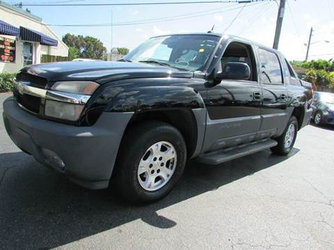 2005 Chevrolet Avalanche for sale at The Repo Store - 1616 South Military Trail Lot in West Palm Beach FL