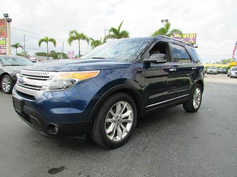 2012 Ford Explorer for sale at The Repo Store - 1616 South Military Trail Lot 2 in West Palm Beach FL