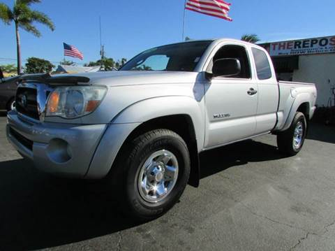 2010 Toyota Tacoma for sale at The Repo Store - 1616 South Military Trail Lot in West Palm Beach FL