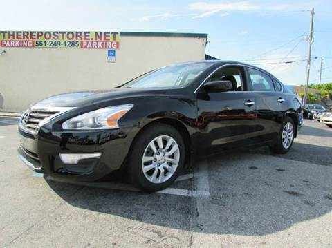 2015 Nissan Altima for sale at The Repo Store - 1616 South Military Trail Lot 2 in West Palm Beach FL