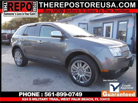 2010 Lincoln MKX for sale at The Repo Store - 1616 South Military Trail Lot 2 in West Palm Beach FL
