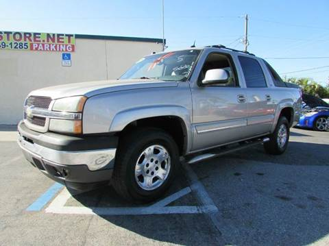 2005 Chevrolet Avalanche for sale at The Repo Store - 624 SOUTH MILITARY TRAIL LOT 1 in West Palm Beach FL