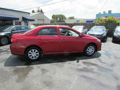 2013 Toyota Corolla for sale at The Repo Store - 1616 South Military Trail Lot 2 in West Palm Beach FL