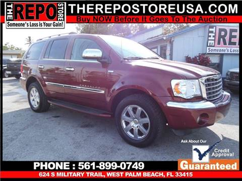 2008 Chrysler Aspen for sale at The Repo Store - 1616 South Military Trail Lot 2 in West Palm Beach FL