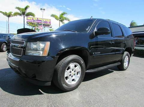 2007 Chevrolet Tahoe for sale at The Repo Store - 624 SOUTH MILITARY TRAIL LOT 1 in West Palm Beach FL