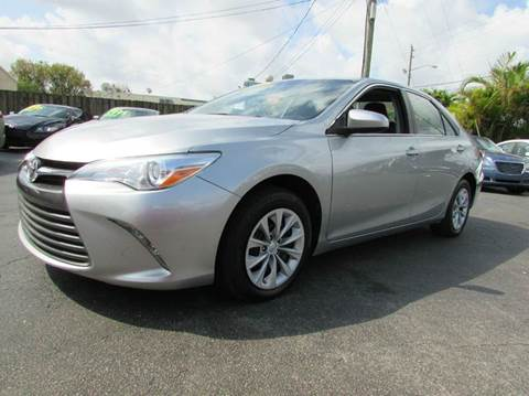 2015 Toyota Camry for sale at The Repo Store - 1616 South Military Trail Lot 2 in West Palm Beach FL
