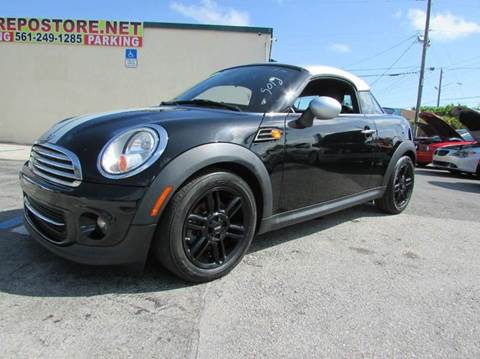 2013 MINI Coupe for sale at The Repo Store - 1616 South Military Trail Lot 2 in West Palm Beach FL