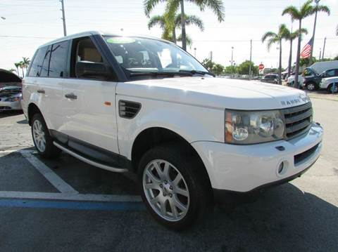 2008 Land Rover Range Rover Sport for sale at The Repo Store - 1616 South Military Trail Lot 2 in West Palm Beach FL