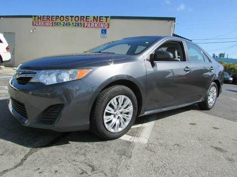 2013 Toyota Camry for sale at The Repo Store - 624 SOUTH MILITARY TRAIL LOT 1 in West Palm Beach FL