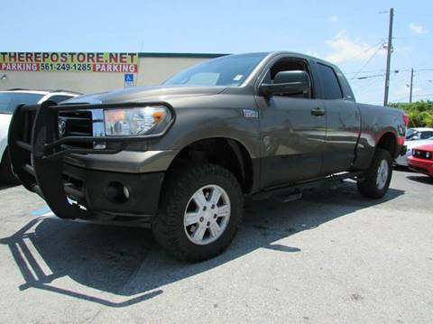 2010 Toyota Tundra for sale at The Repo Store - 1616 South Military Trail Lot in West Palm Beach FL