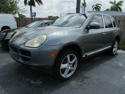 2004 Porsche Cayenne for sale at The Repo Store - 624 SOUTH MILITARY TRAIL LOT 1 in West Palm Beach FL