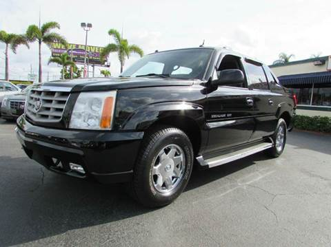 2005 Cadillac Escalade EXT for sale at The Repo Store - 1616 South Military Trail Lot 2 in West Palm Beach FL