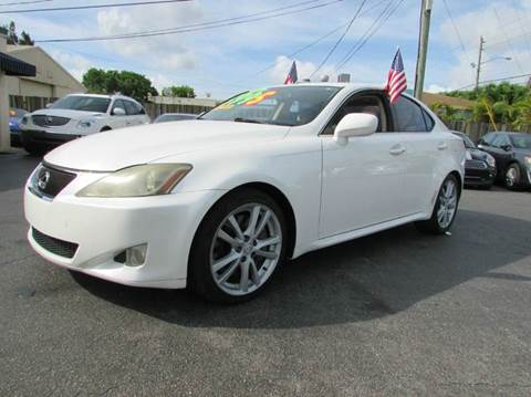 2006 Lexus IS 350 for sale at The Repo Store - 1616 South Military Trail Lot 2 in West Palm Beach FL
