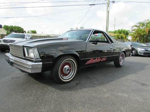 1979 Chevrolet El Camino for sale at The Repo Store - 1616 South Military Trail Lot 2 in West Palm Beach FL