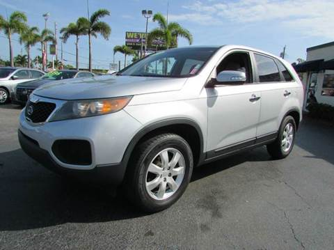 2011 Kia Sorento for sale at The Repo Store - 1616 South Military Trail Lot 2 in West Palm Beach FL