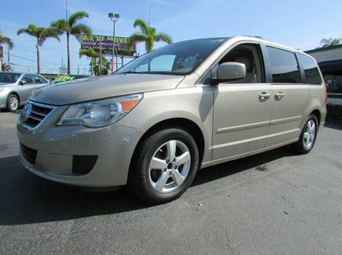 2009 Volkswagen Routan for sale at The Repo Store - 1616 South Military Trail Lot 2 in West Palm Beach FL
