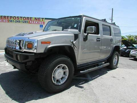 2003 HUMMER H2 for sale at The Repo Store - 1616 South Military Trail Lot 2 in West Palm Beach FL