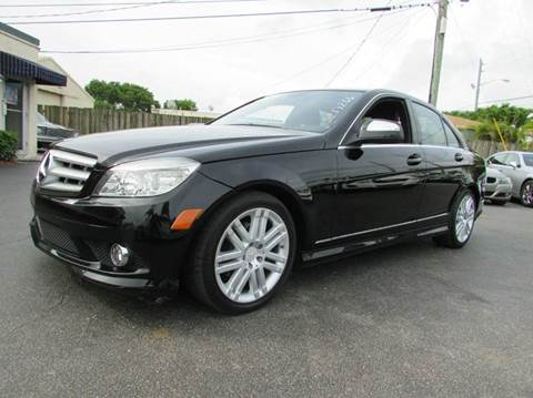 2009 Mercedes-Benz C-Class for sale at The Repo Store - 624 SOUTH MILITARY TRAIL LOT 1 in West Palm Beach FL