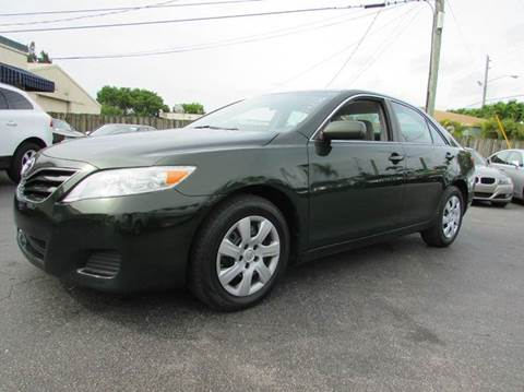 2011 Toyota Camry for sale at The Repo Store - 624 SOUTH MILITARY TRAIL LOT 1 in West Palm Beach FL