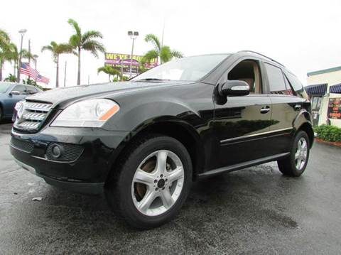 2008 Mercedes-Benz M-Class for sale at The Repo Store - 1616 South Military Trail Lot 2 in West Palm Beach FL