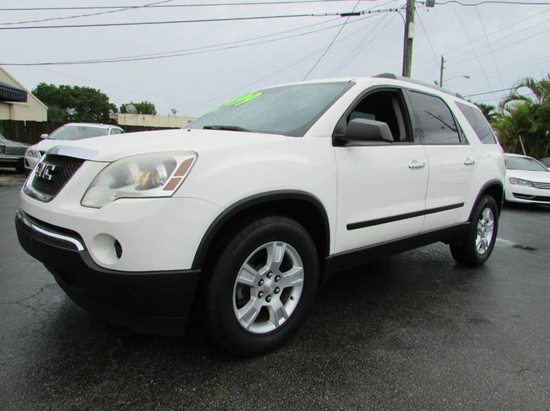 2011 GMC Acadia for sale at The Repo Store - 624 SOUTH MILITARY TRAIL LOT 1 in West Palm Beach FL