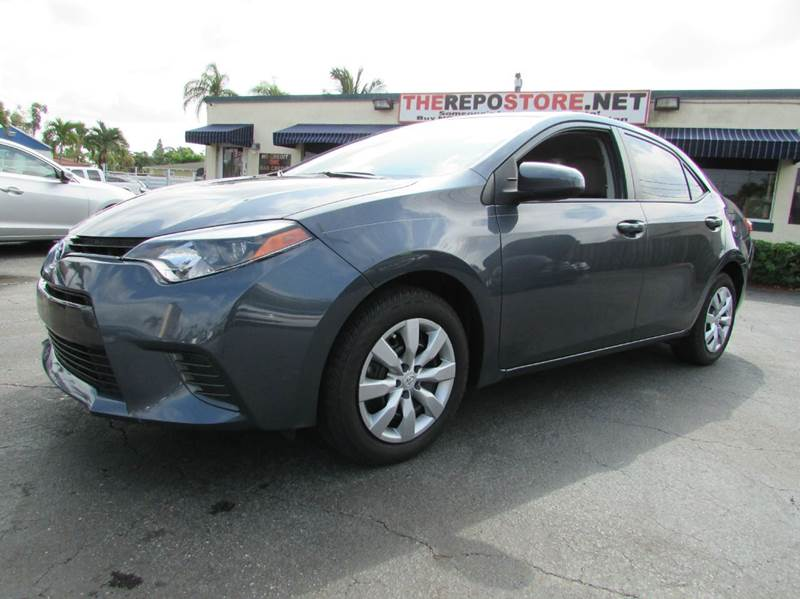 2016 Toyota Corolla for sale at The Repo Store - 1616 South Military Trail Lot in West Palm Beach FL