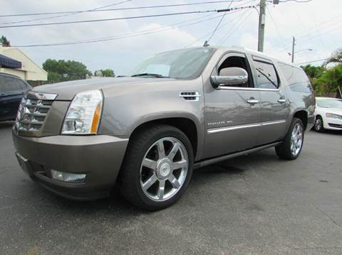 2011 Cadillac Escalade ESV for sale at The Repo Store - 1616 South Military Trail Lot 2 in West Palm Beach FL