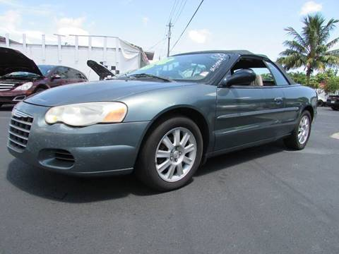 2006 Chrysler Sebring for sale at The Repo Store - 624 SOUTH MILITARY TRAIL LOT 1 in West Palm Beach FL