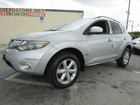2009 Nissan Murano for sale at The Repo Store - 1616 South Military Trail Lot 2 in West Palm Beach FL