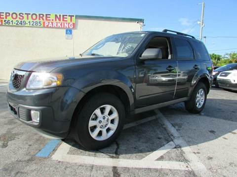 2009 Mazda Tribute for sale at The Repo Store - 1616 South Military Trail Lot 2 in West Palm Beach FL