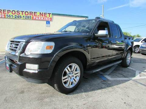 2008 Ford Explorer Sport Trac for sale at The Repo Store - 624 SOUTH MILITARY TRAIL LOT 1 in West Palm Beach FL