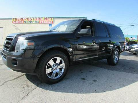 2010 Ford Expedition EL for sale at The Repo Store - 1616 South Military Trail Lot in West Palm Beach FL