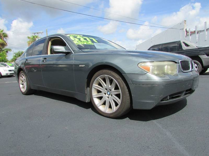 2003 BMW 7 Series for sale at The Repo Store - 624 SOUTH MILITARY TRAIL LOT 1 in West Palm Beach FL